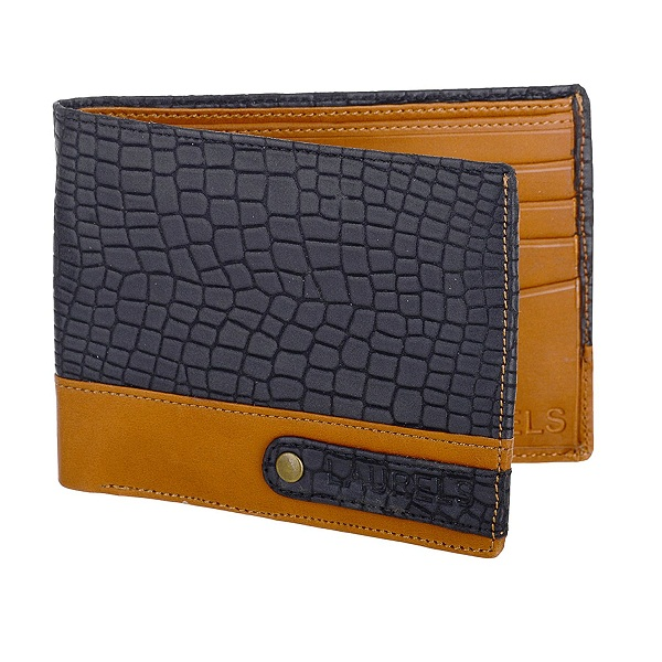 Laurels Ranger Black Mens Wallet