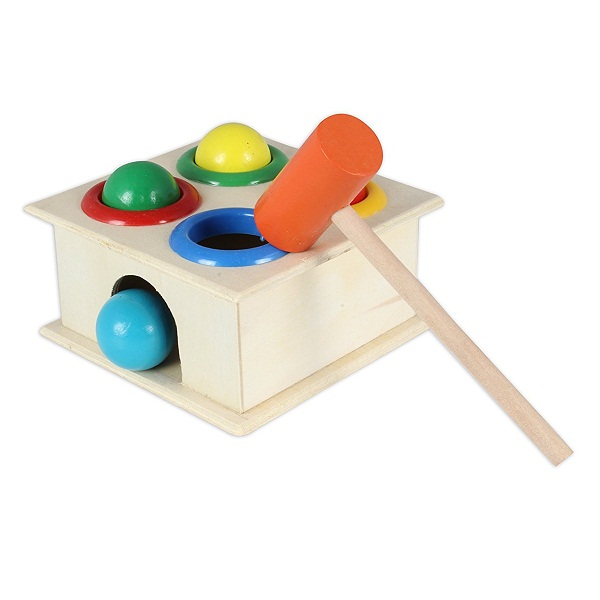 BAYBEE Wooden Hammer Case Toy For Kids