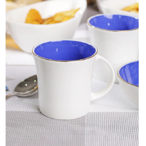 BP Bharat Bone China Good Morning Tea Set Set of 6