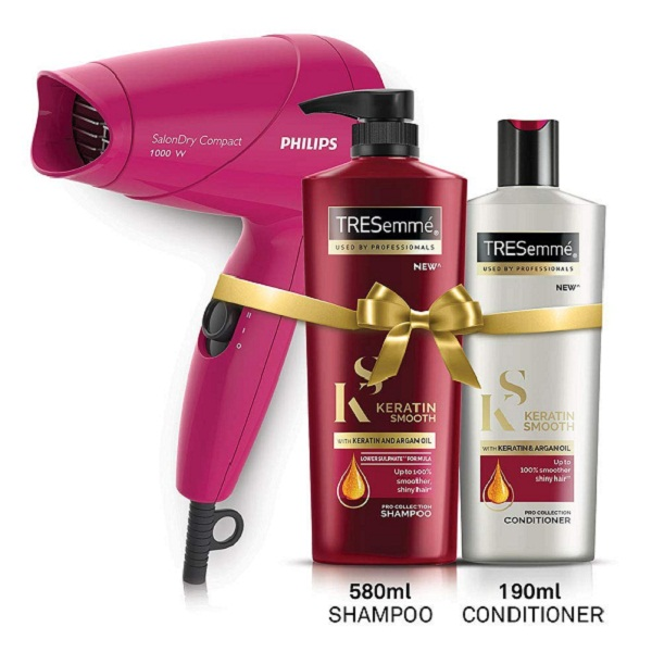 Hair Care And Styling Combo Pack