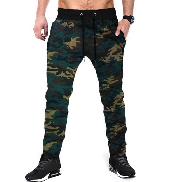 Tripr Camouflage Mens Track Pants