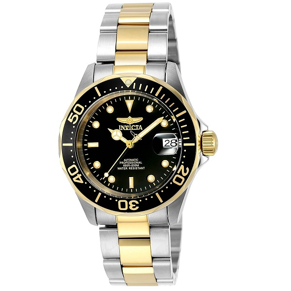 Invicta Pro Diver Analog Black Dial Mens Watch