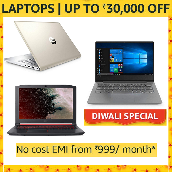 Diwali Special Handpicked Laptop deals