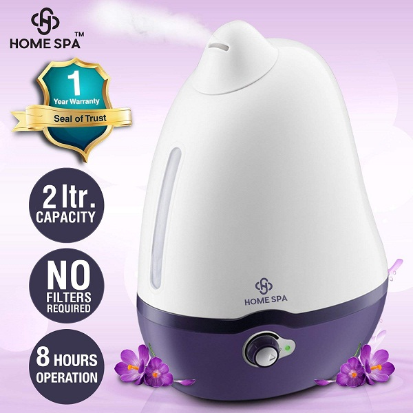 Home Spa Luxury Cool Mist Dolphin Humidifier