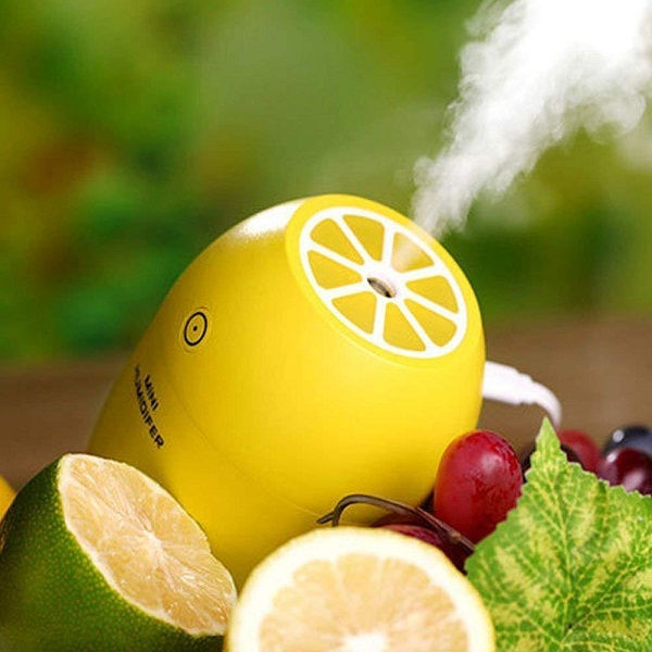 ShoppoStreet Lemon Style Humidifier 180ML LED Night Cool Air Purifier
