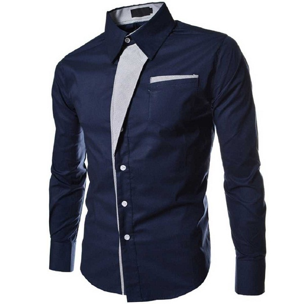Men Solid Casual Shirt