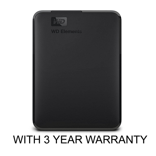 WD Elements 4TB Portable External Hard Drive
