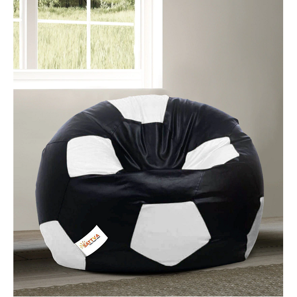 Football XXL Bean Bag with Beans