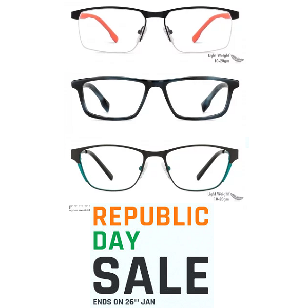 Republic Day Sale On Eyewear