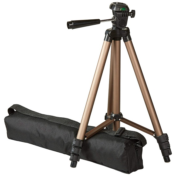 AmazonBasics 50 Inch Lightweight Tripod with Bag