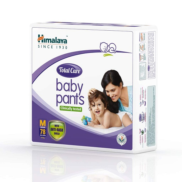 Himalaya Total Care Baby Pants Diapers 78 Count