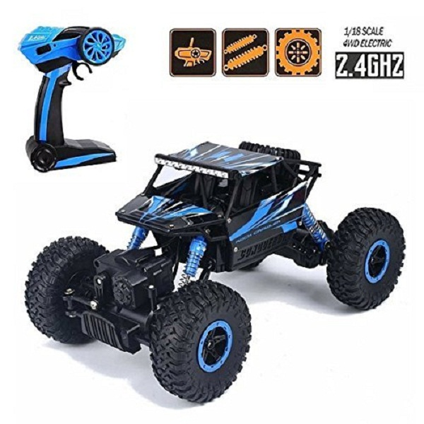 higadget Dirt Drift Waterproof Remote Controlled Rock Crawler RC Monster Truck