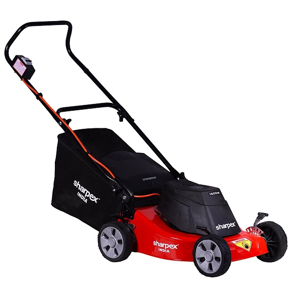 Sharpex Electric Lawn Mower with Grass Catcher