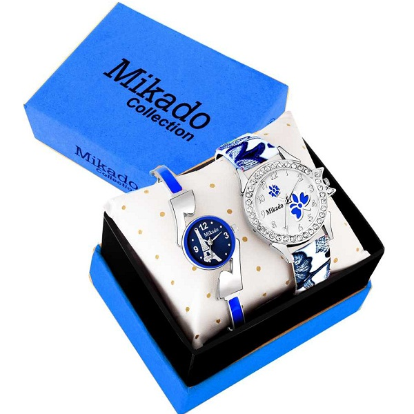Blue Alice New Analog watches combo