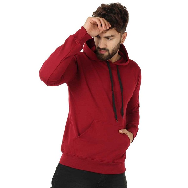 Full Sleeve Solid Mens Sweatshirt
