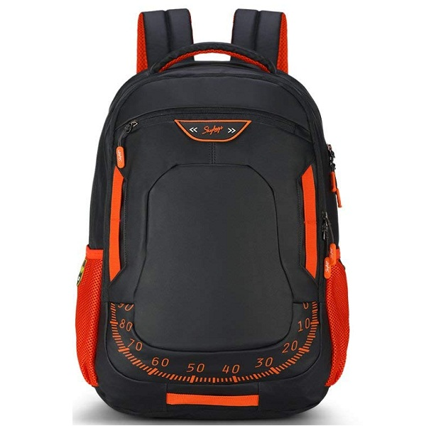 Skybags Xcide Plus 49 Ltrs Black Casual Backpack