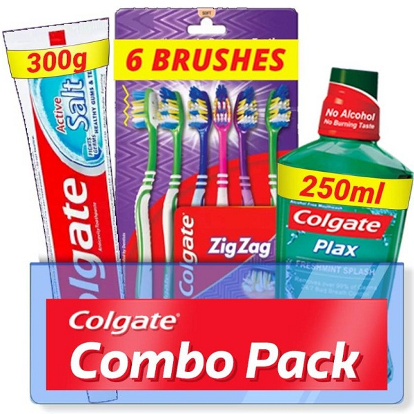 Colgate Active Salt Combo