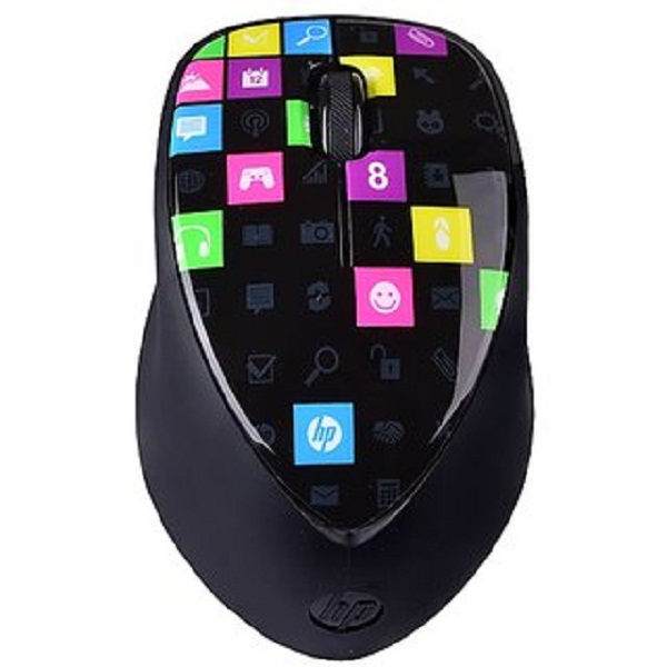 HP Wireless 3 Button Touch to Pair Laser Mouse
