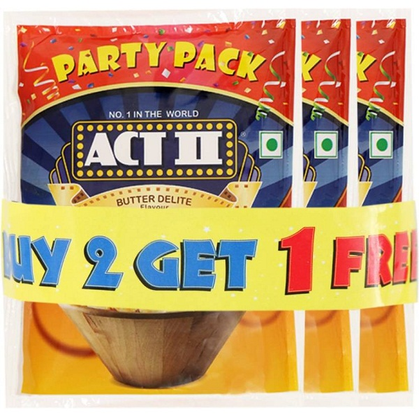 ACT II Party Pack Butter Delite Popcorn combo