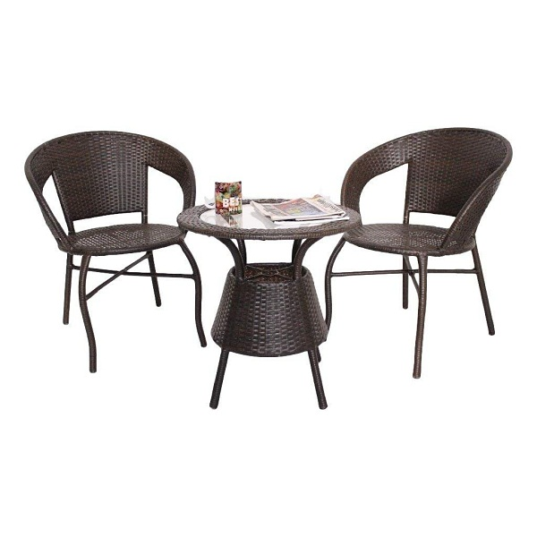 Unique360 Wix Outdoor Garden Patio Seating Set