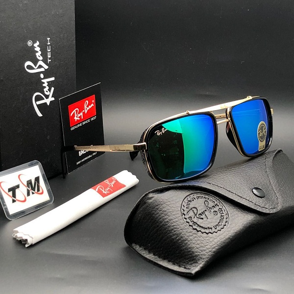 Kdh Blue Square Sunglasses