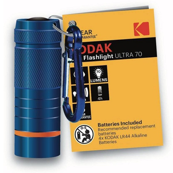 Kodak LED Flashlight Ultra 70 Torch with 3 Years Guarantee