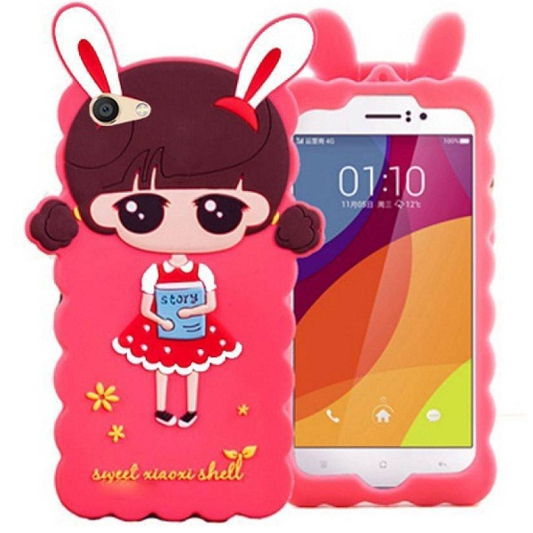 Girls Cute Hello Kitty Back Case Cover for Vivo V7 Plus