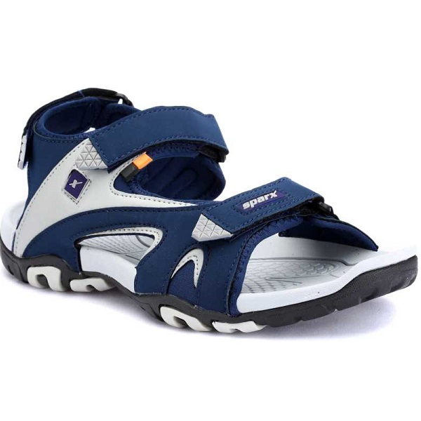 Sparx Men Blue Grey Sandals