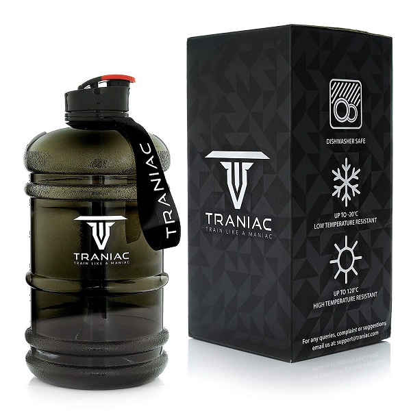 TRANIAC 2L Water Bottle for Gym