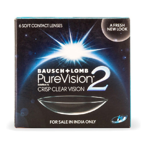Bausch And Lomb PureVision2 HD contact lenses