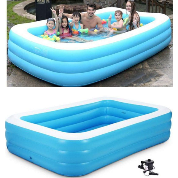 Inflatable Pool Jumbo Size with Pump