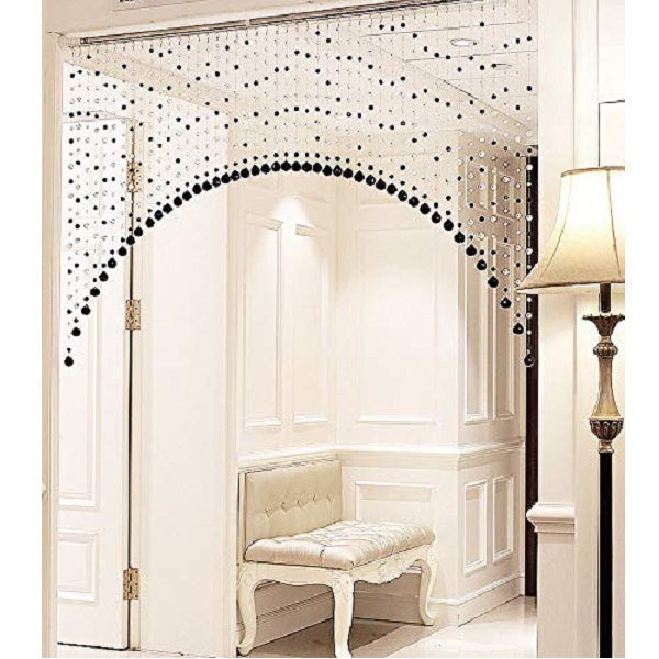 Pindia Fancy Sparkling 3 Feet Wide Arch Bead Hanging Curtain