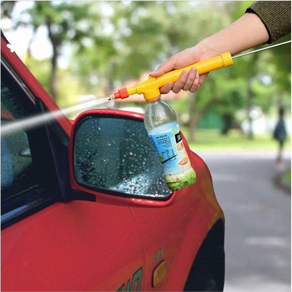 Water Bottle Spray Gun for Car And Bike