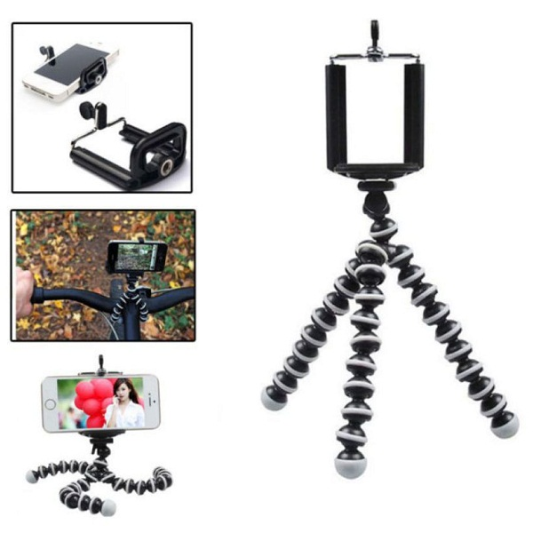 Totu Flexible Mini tripod stand Foldable wired legs