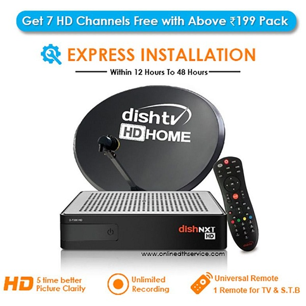 DishNxt HD Set top Box Premium