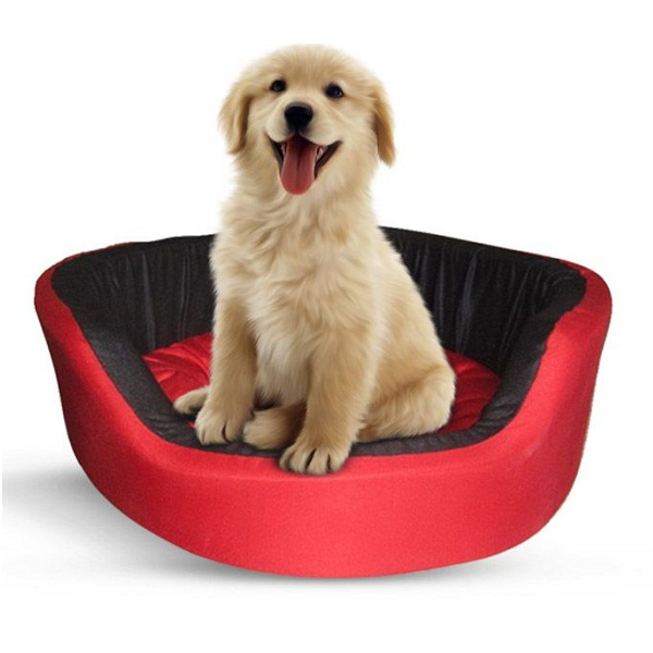 Crebril Small Comfort Red Pet Bed