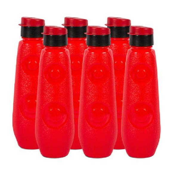 GPET FB 1 Ltr Blue Bell PP Red Pack Of 6 Bottles