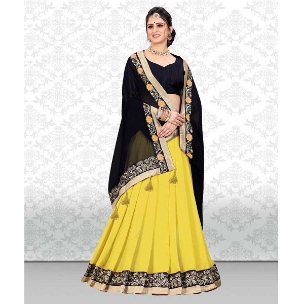 Divastri Bollywood Poly Georgette Saree