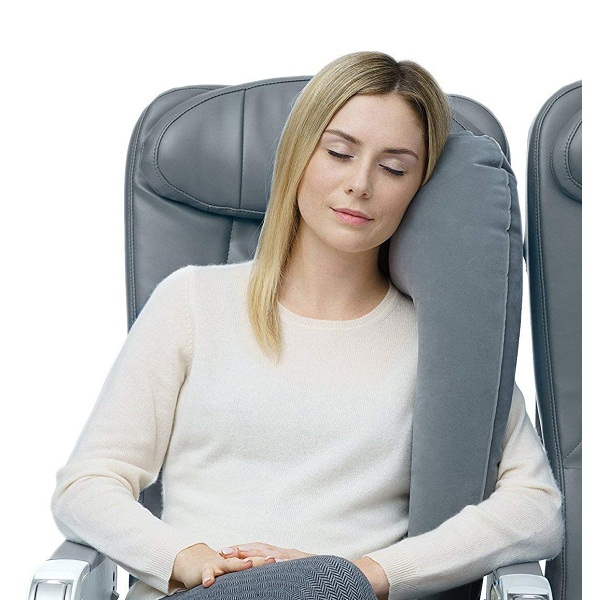 Getko With Device The Ultimate Inflatable Travel Rest Pillow