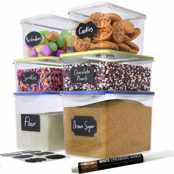 Chefs Path Food Storage Containers