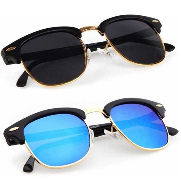 UV Protection Clubmaster Sunglasses