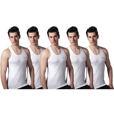 Lux Mens Vest Pack of 5