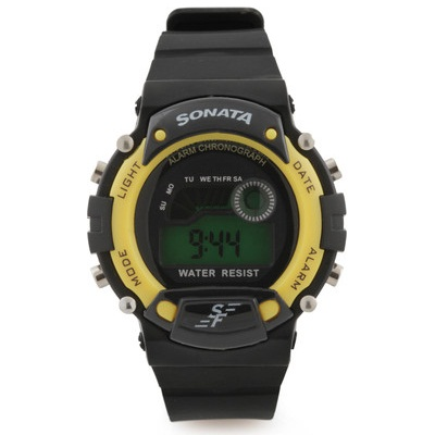 SF by Sonata Superfibre Digital Watch For Men