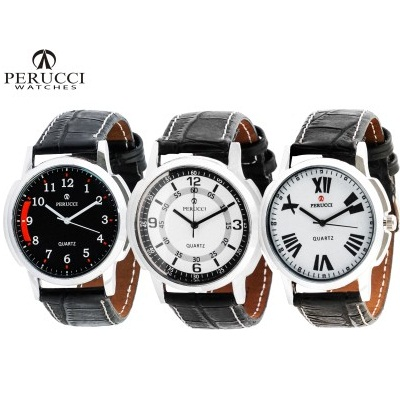 Perucci Pc-115, Pc-118, Pc-130 Decker Analog Watch For Men