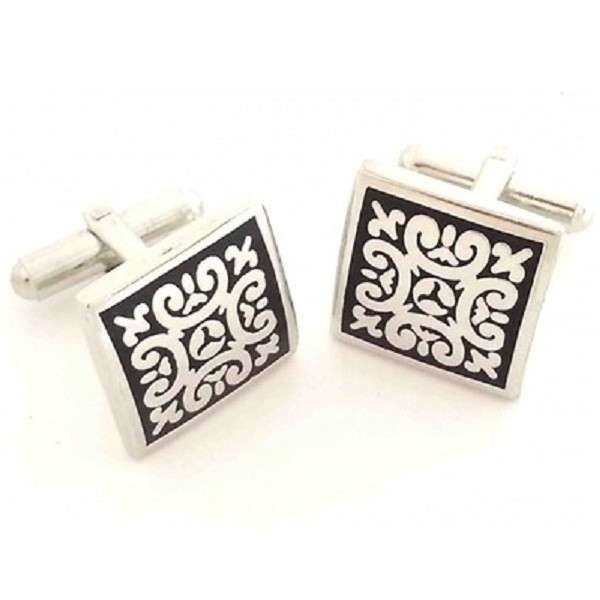 Leaf Jewel Cufflinks