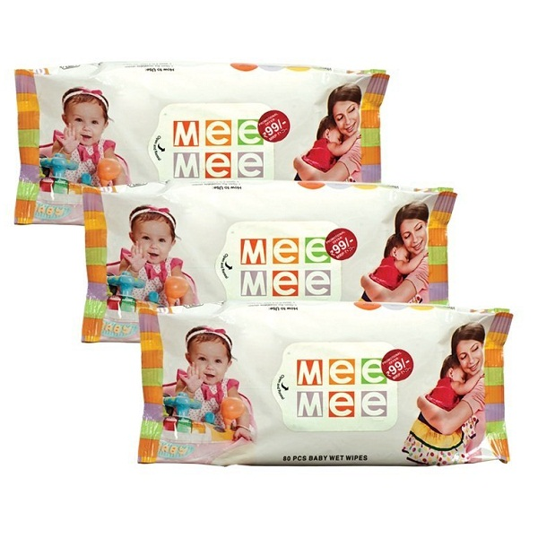 MeeMee BabyWetWipes 3Packs