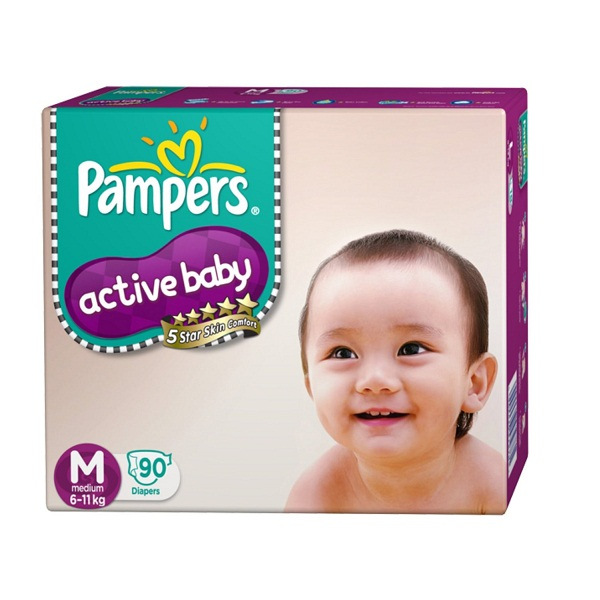 Pampers MediumSize Diapers