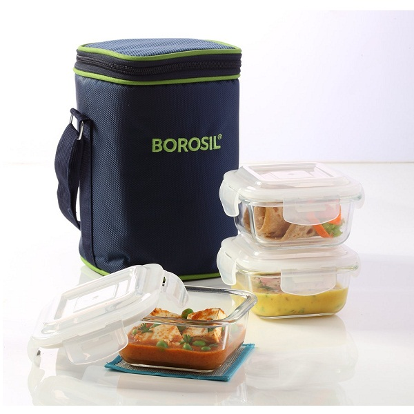 Borosil Containers Set Of 3