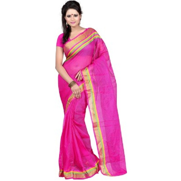 Kajal Sarees Self Design Bollywood Georgette Sari
