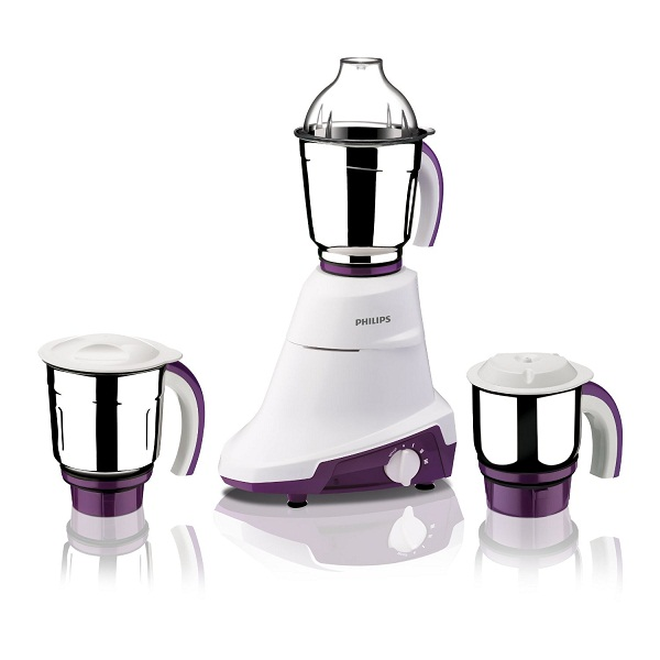Philips 750Watt MixerGrinder with 3Jars